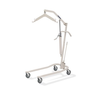Invacare Personal Hydraulic Patient Body Lift (9805P) Package With Mesh Sling