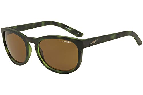 Arnette - PLEASANTVILLE AN 4219-2324/73 Sunglasses GREEN HAVANA/BROWN 57mm ()