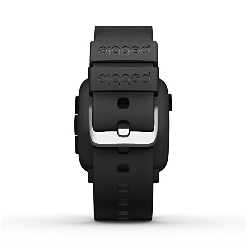 Pebble Time Smartwatch - Black (Certified Refurbished)