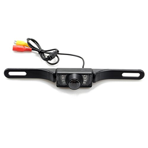 TOOGOO(R) CMOS Car Universal Rear View Reverse Backup Camera 7 LED Night Vision Waterproof Review