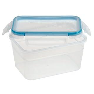 Snapware Total Solution Rectangular Plastic Food Storage Set (5-Cup, BPA Free, Meal Prep, Leak-Proof, Microwave, Freezer and Dishwasher Safe)