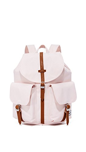 herschel-supply-co-dawson-womens-backpack-cloud-pink-tan-synthetic-leather