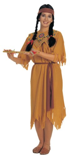 Rubie's Costume Women's Native Maiden Costume, Tan, One Size