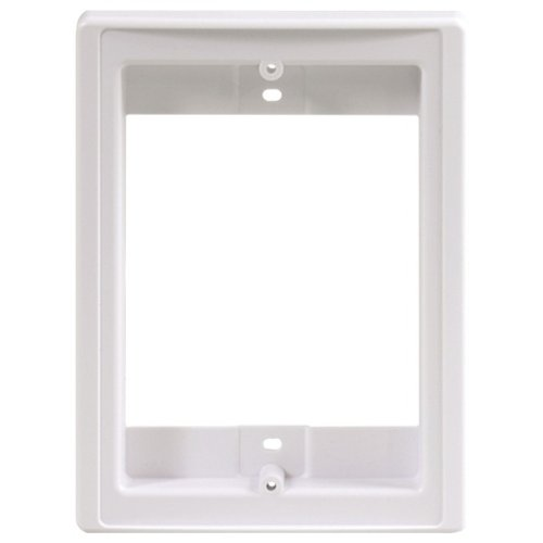M&S SYSTEMS DMCFD Retrofit Frame and Finish Out for Door Speaker-by-M&S SYSTEMS ()