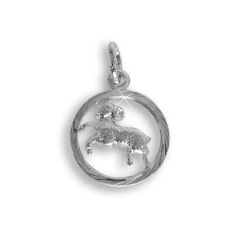 Sternzeichen Anhänger für Kinder Widder Sterling Silber 925 (213277) Viennagold