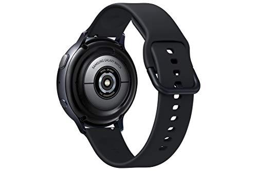 31q 1u3qDaL Samsung Galaxy Watch Active 2 (Bluetooth, 44 mm) - Black, Aluminium Dial, Silicon Straps