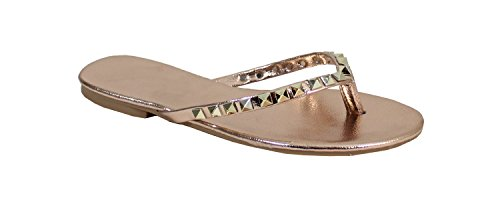 By Shoes ,  Infradito Donna, oro (champagne), 37