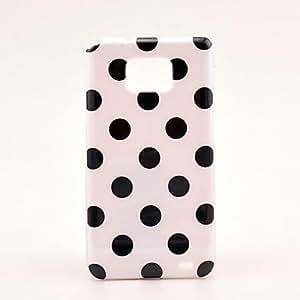 Conseguir Blanco Splashy Patrón Hard Case para Samsung Galaxy S2 i9100