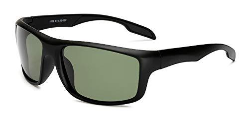 Amazon.com: Fashion Polarized Sunglasses Men Square Mirror ...
