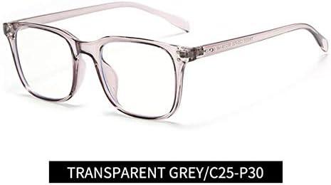 Miwaimao pcメガネ,アンチブルーライトラジエーションコンピュータゲーミングメガネ男性女性ブロッカーブロッキングメガネレイゴーグル、グレー
