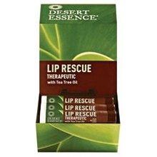 DESERT ESSENCE DSP,LIP RESCUE,T/T OIL, .15 OZ