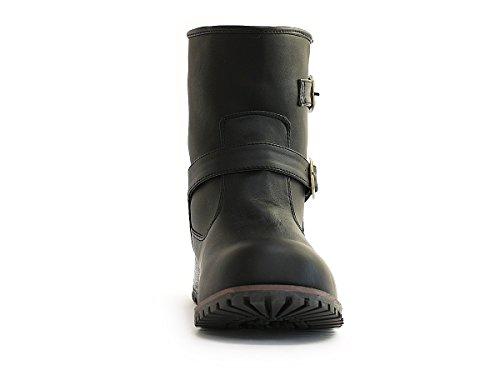 Watanabe Ingenieur Laarzen Dames Korte Laarzen Zwart