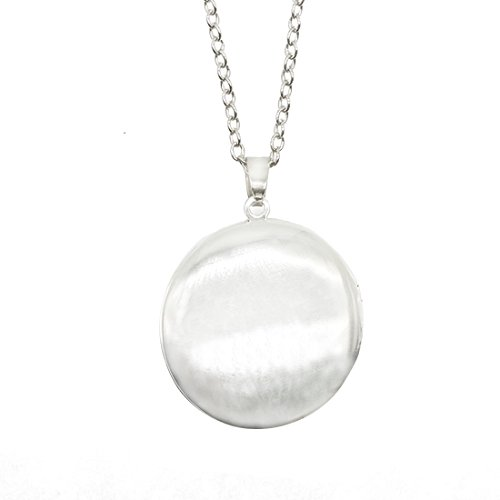 Women's Custom Locket Closure Pendant Necklace Dragon Eyes Included Free Silver Chain, Best Gift Set by LooPoP (Image #3)
