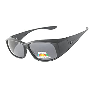 Fit Over Unisex Polarized Sunglasses to Wear Over Regular Glasses