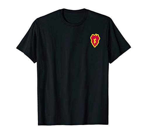 (US Army 25th Infantry Division Military Morale T-Shirt)