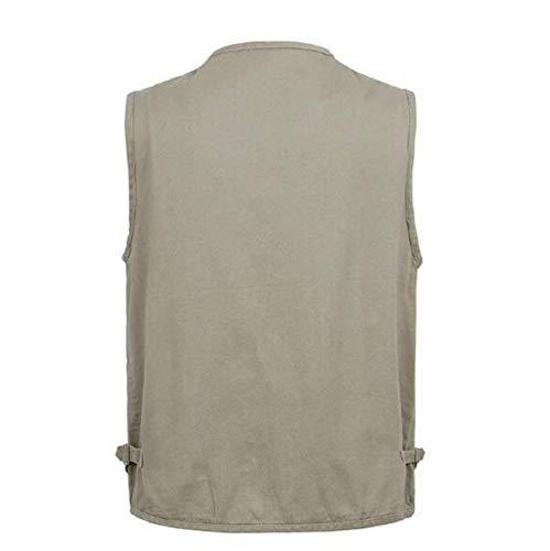 Ricreazione Pesca Hx Multi Pocket Uomo pocket Comode Verde Multi Abiti Fotografia Fashion Taglie Da Gilet Esterna Vest All'aperto rwR8IRXA
