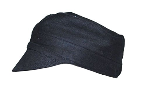 [European Style Farmer Coal Miner Factory Worker Cadet Hat Costume Accessory] (Coal Miner Costume)