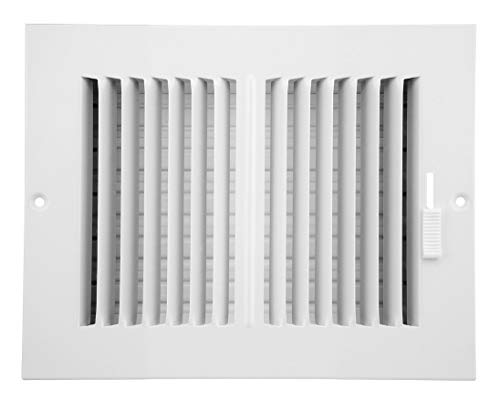 8 inch duct wall vent - 6