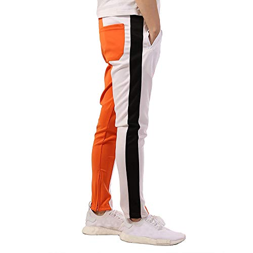 Élastique À Jogging De Uribaky Pantalon Décontracté Orange Taille OxqvPZTPw