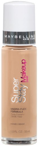 Maybelline New York Super Stay 24Hr Makeup, Honey Beige, 1 Fluid Ounce (Pack of 2)