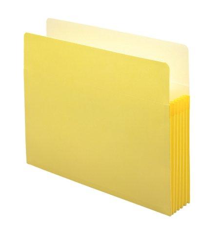 - Smead File Pocket, Straight-Cut Tab, 5-1/4
