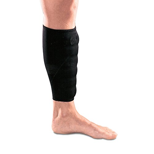 Polar Ice Shin Wrap, Cold Therapy Ice Pack, Medium (Color may vary) by Brownmed