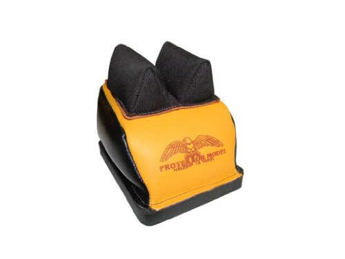 """Protektor Model (14BC.5.TS.D.BB) Deluxe B.B. Rear Bag w/ Mid. Cordura Ear 1/2"""" T.S. Btwn. Ears (Filled) - MADE IN USA!"""