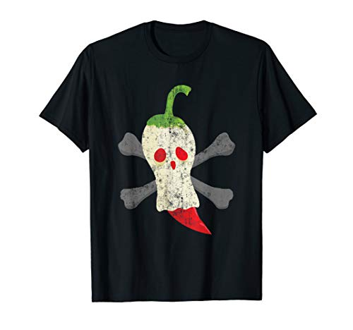 Funny Ghost Pepper Halloween Ghost T-Shirt