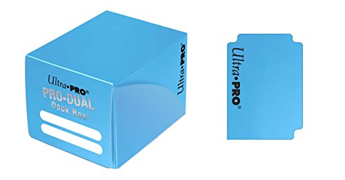 Ultra PRO Dual Deck Box, Light Blue, Small