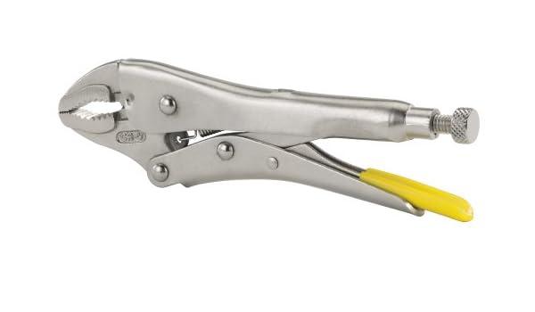 Stanley 84 - 808 7 - 3/8-inch MaxSteel Curved Jaw bloqueo alicates: Amazon.es: Bricolaje y herramientas