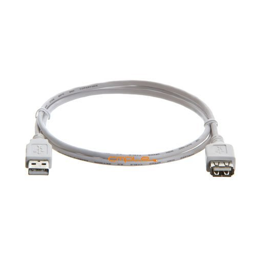 Cmple - USB 2.0 A Male to A Female Extension Cable - 3FT