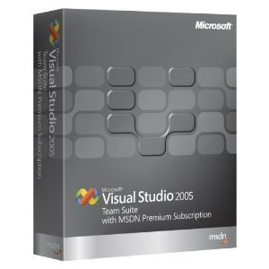 Microsoft Visual Studio Team Suite 2005 With MSDN Premium (CD & DVD) [Old Version]