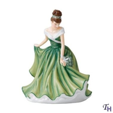 Doulton Royal Birthday Figurine (Royal Doulton Flower of the Month December Figurine)