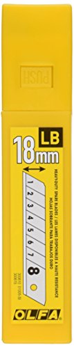 (OLFA 5009 LB-10B Snap-Off Heavy Duty Blade, 10 Pack)