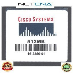 - MEM-CF-256U512MB 256MB to 512MB Cisco 1900, 2900, 3900 Routers ISR Approved Compact Flash Memory 100% Compatible memory by NETCNA USA