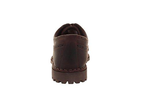 Sebago Herren Metcalf Wing Spitze Casual Schuh Dark Brown