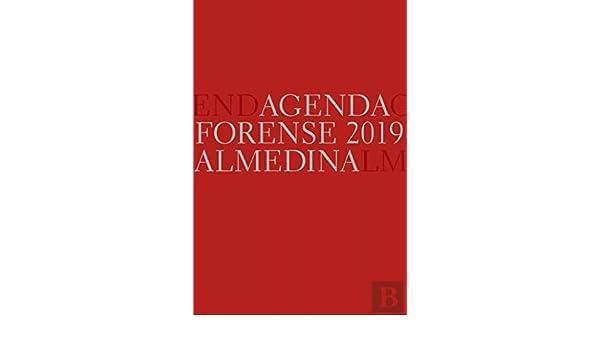 Agenda Forense 2019 Bolso (Vermelho) (Portuguese Edition ...