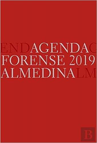 Agenda Forense 2019 (Vermelho) (Portuguese Edition): Vários ...