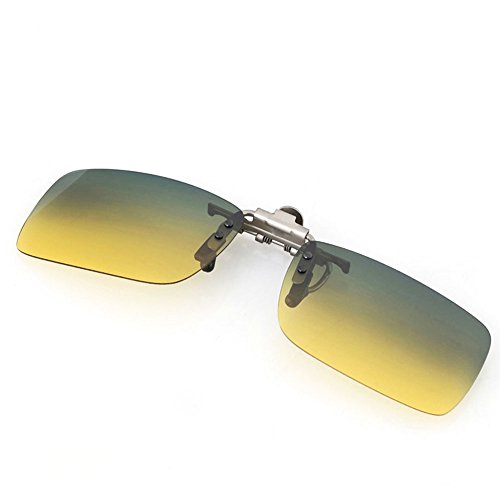 Glazata Polarized Clip-on Flip Up Metal Clip Rimless - Than Better Polarized Polarized Is Non