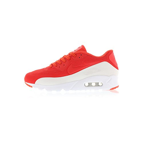 Nike Air Max 90 Ultra Moire Mens Sneakers 819477-011 Lite Cremisi / Lite Cremisi-bianco / Rosso-bianco
