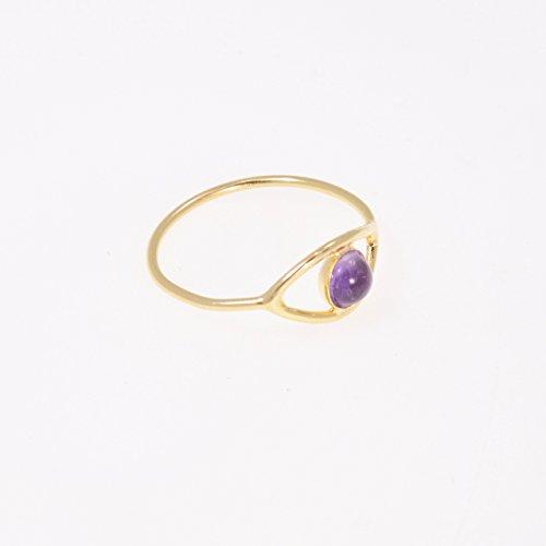 Buy evil eye gold ring