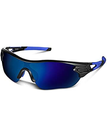 ecdcafb8635d Polarized Sports Sunglasses for Men Women Youth Baseball Cycling Running  Driving Fishing Golf Motorcycle TAC Glasses