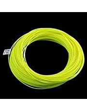 BestCity Premier Kwaliteit WF5 TROUT Drijvende Vliegvissen Lijn Fluorescerend Geel Verenigd Koninkrijk