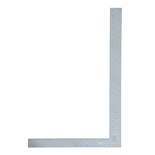 VINCA SCLS-2416 Carpenter L Framing Square 16 inch x 24 inch Measuring Layout Tool ()
