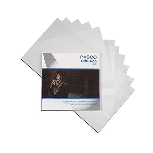 Rosco Diffusion Filter Kit, 12 x 12 Sheets