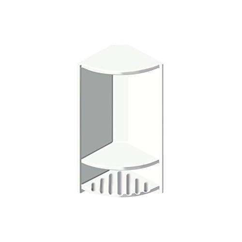 """Transolid ACCESS0004-A5 Decor 6"""" x 14-1/2"""" Double Corner Shelf, White new"""