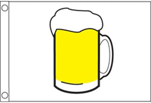 12 x 18 Taylor Made Products 9218 Beer Boat Flag