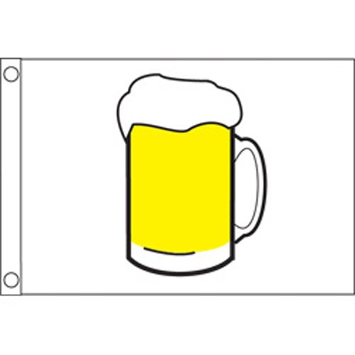 Taylor Made Products 9218 Beer Boat Flag (12
