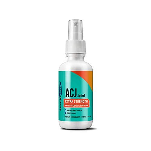 Results RNA ACJ Joint Spray Extra Strength Joint Support antioxidant Anti-inflammatory 2 oz