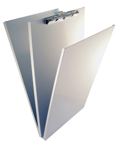 Saunders Recycled Aluminum A-Holder Form Holder, 8.5 x 12 x 1.25 Inch, 1 Holder - Clipboard Aluminum Recycled Antimicrobial